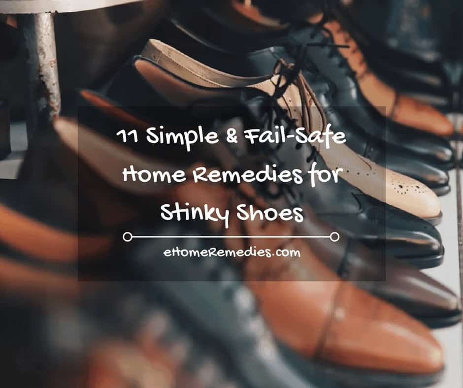 11 Simple & Fail-Safe Home Remedies for Stinky Shoes