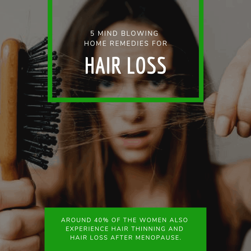 5 Mind Blowing Home Remedies For Hair Loss That Actually Work