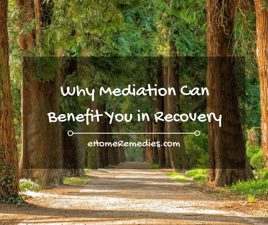 Why Mediation Can Benefit You in Recovery
