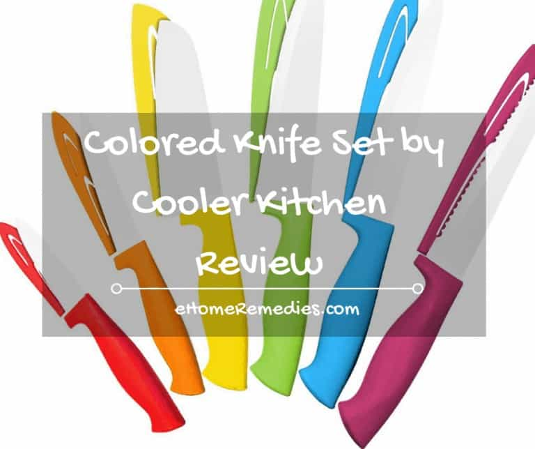 Colored Knife Set by Cooler Kitchen – Review