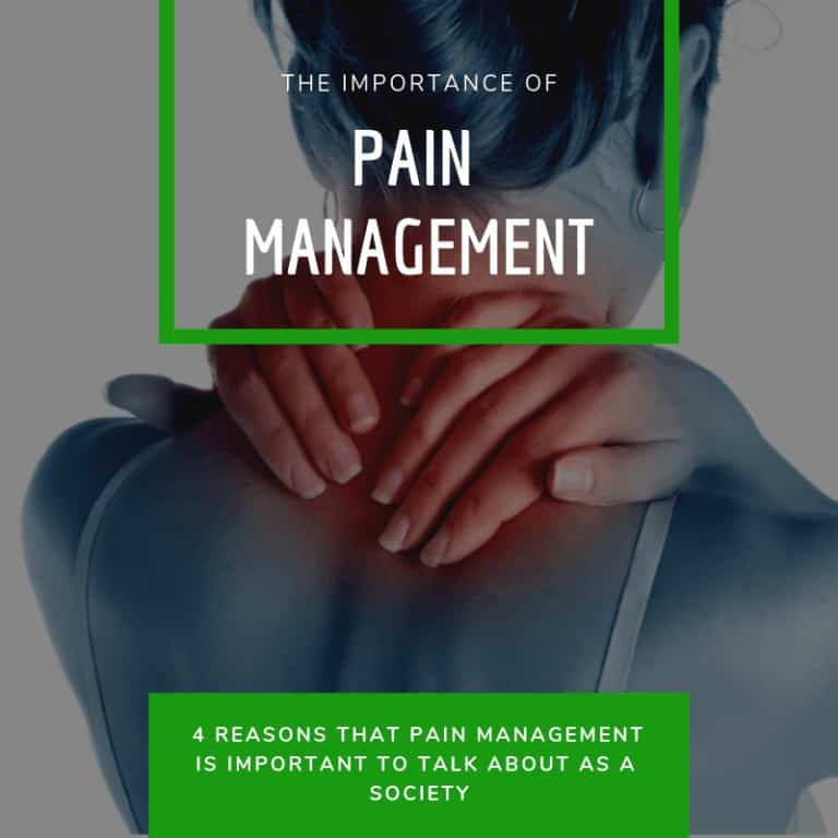 the IMPORTANCE of pain management