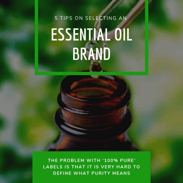 Selecting an Essential Oil Brand