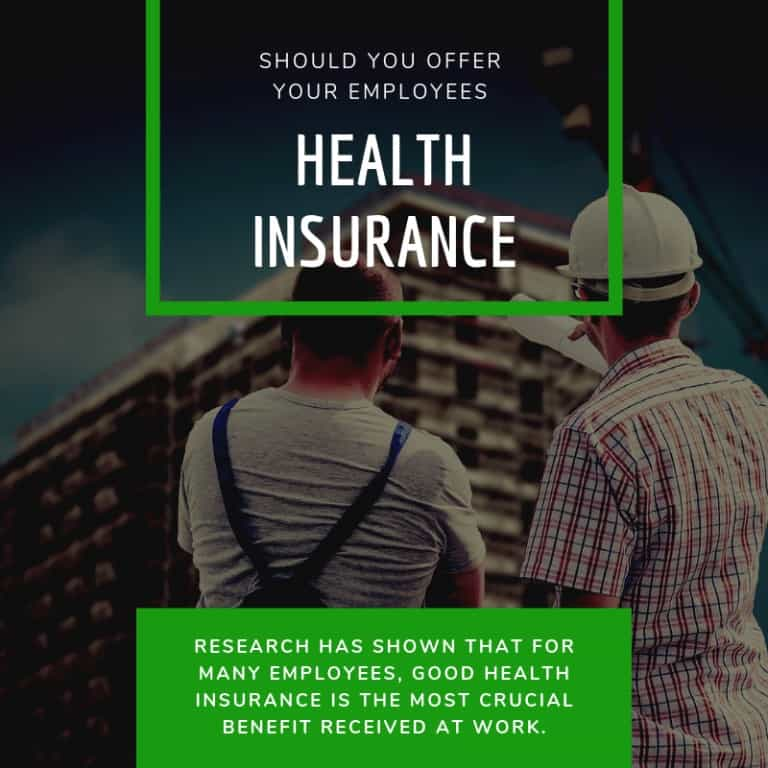 Should You Offer Your Employees Health Insurance