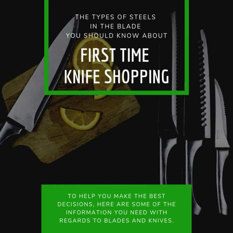 Types of Steels in the Blade