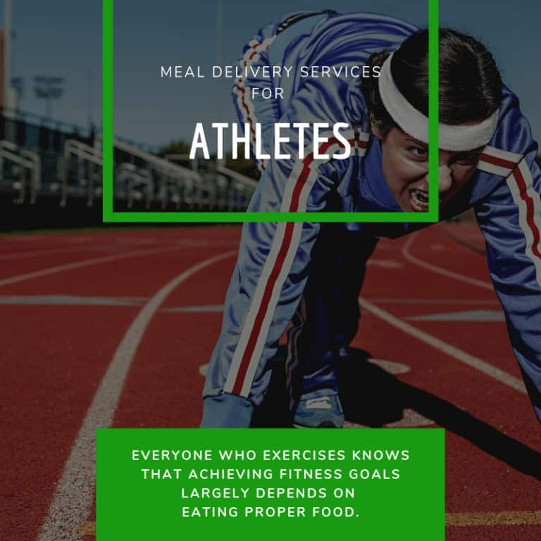 Meal Delivery Services for Athletes