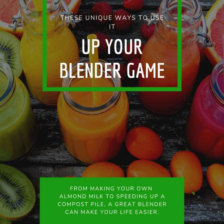 unique ways to use a blender