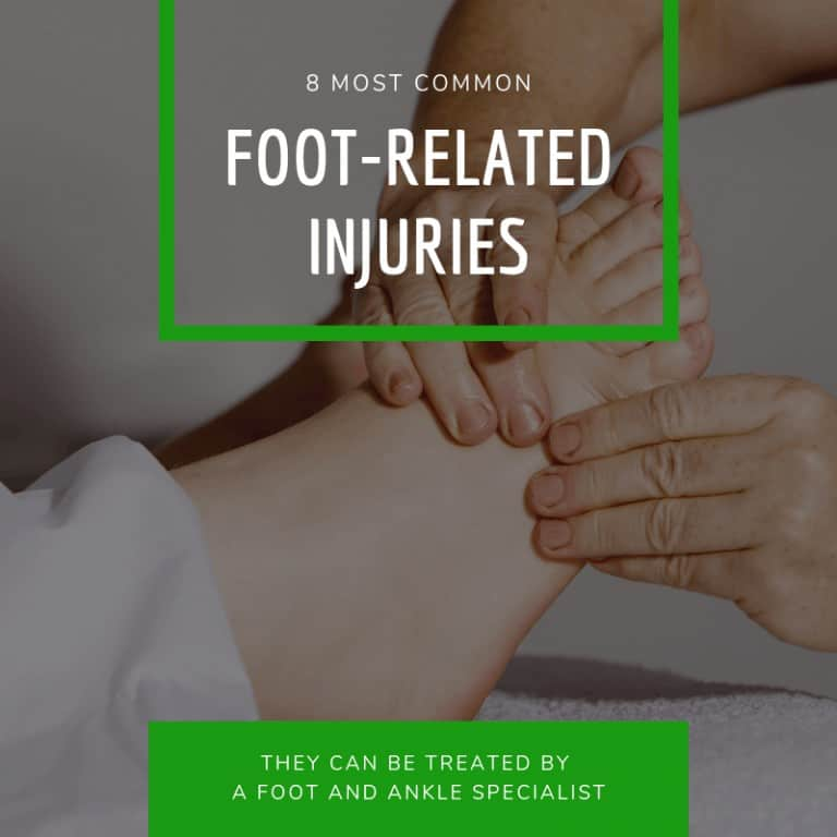 Common Foot Related Injuries