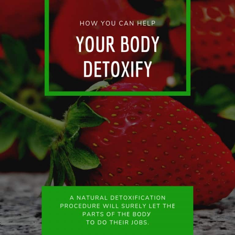 How You Can Help Your Body Detoxify