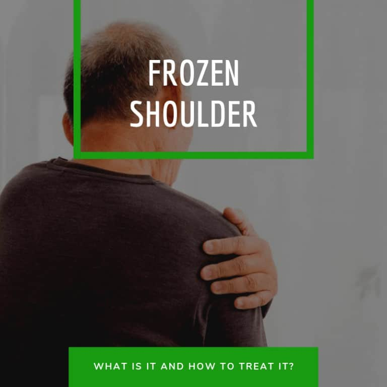 how to treat frozen shoulder at home