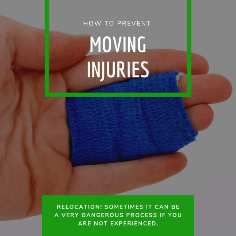 How to prevent moving injuries