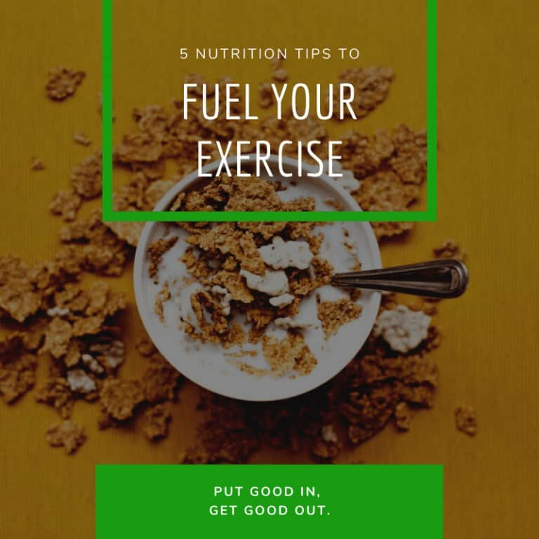 Nutrition Tips to Fuel Your Exercise