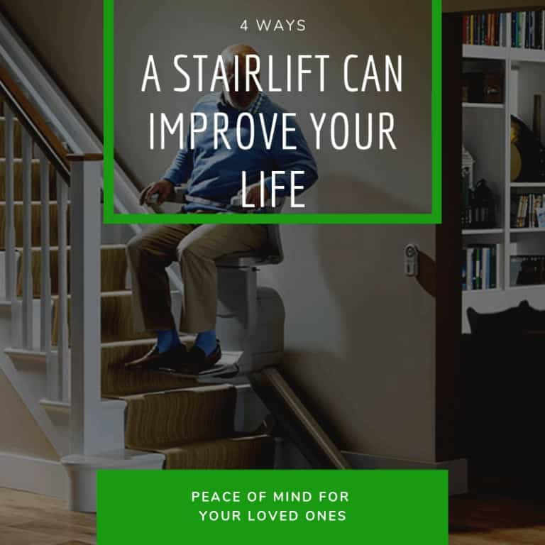 Four Ways a Stairlift Can Improve Your Life