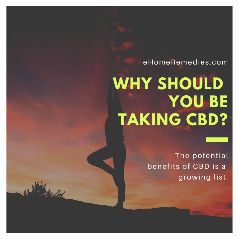 Why Should You Be Taking CBD